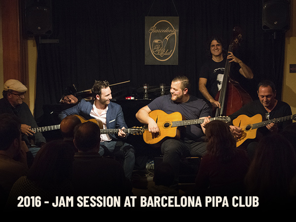 Jam Session at Barcelona Pipa Club